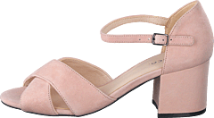 Biacate Suede Cross Sandal 491 Powder 1