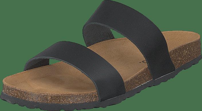 Bianco - Biabetricia Twin Strap Sandal 100 Black