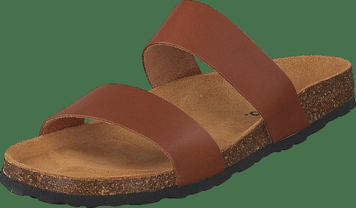 Biabetricia Twin Strap Sandal 240 Cognac