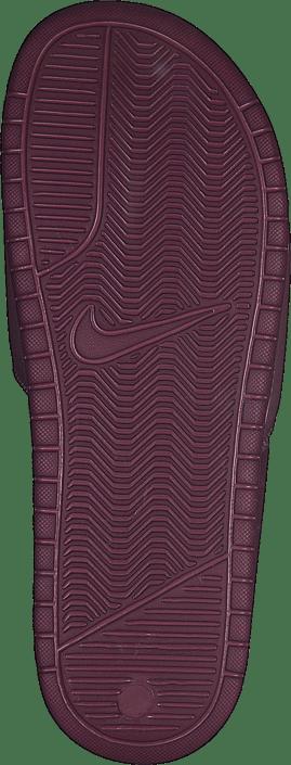 Kjøp Nike Wmns Benassi Just Do It Shadowberry/white-plum Chalk Sko Online