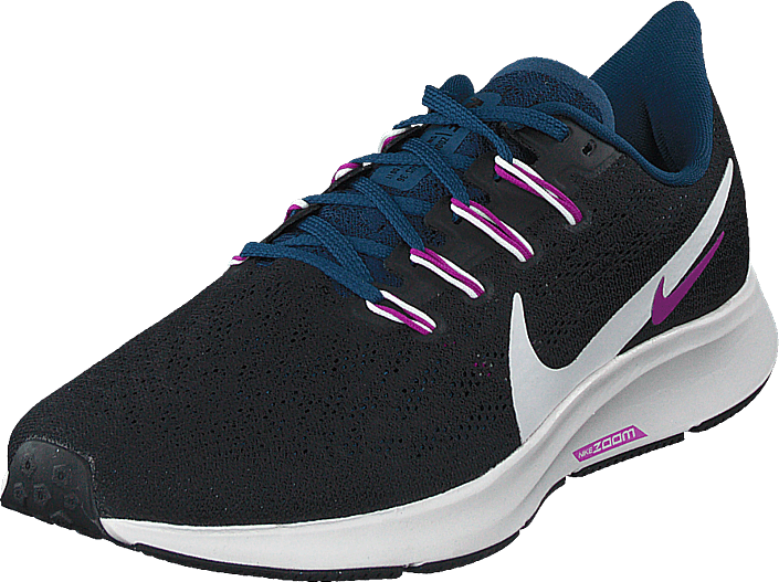 Nike - Wmn Air Zoom Pegasus 36 Black/summit White-valerian Bl