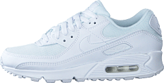 Wmns Air Max 90 White/white-white-wolf Grey