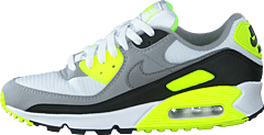 Air Max 90 White/particle Grey-volt-black