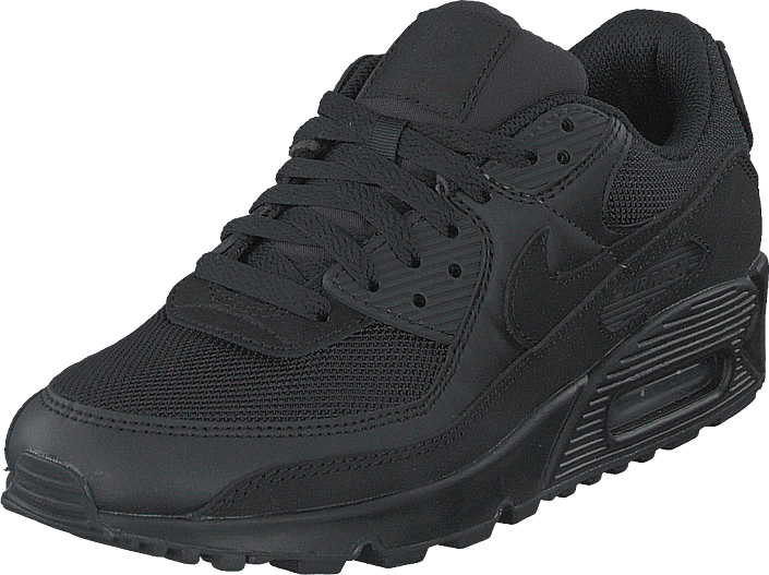 Wmns Air Max 90 Black/black-black