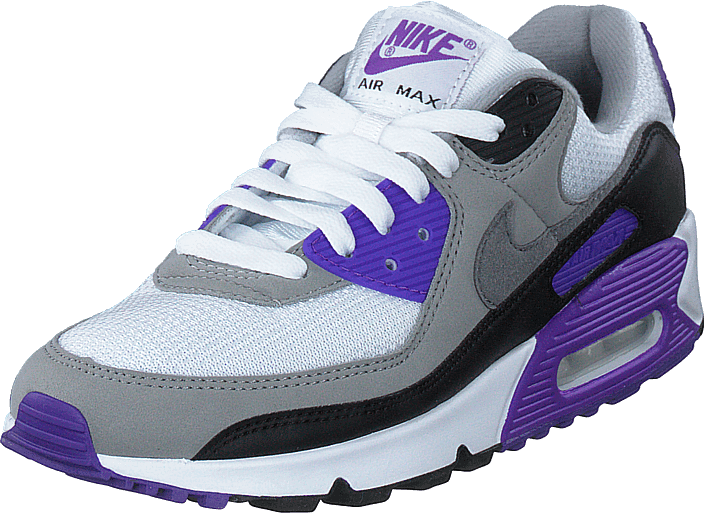 Wmns Air Max 90 White/particle Grey-grape