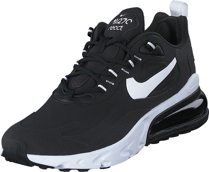Nike - Wmns Air Max 270 React Black/white-black-black