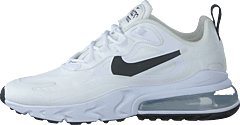 Wmns Air Max 270 React White/black-metallic Silver