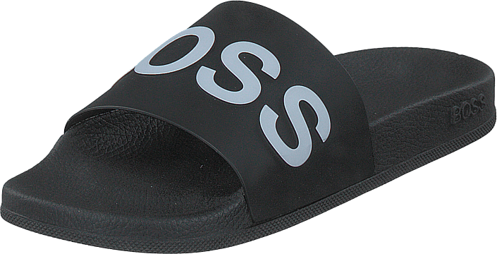 Boss - Hugo Boss - Bay_slid_rblg Black