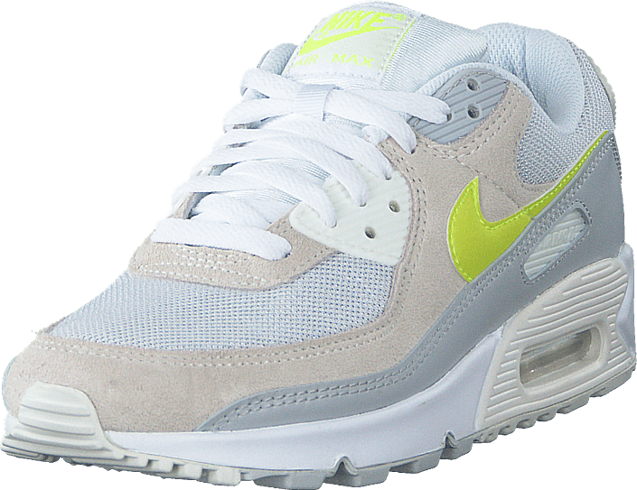 Nike - Wmns Air Max 90 Wht/lemon Venom-pure Platinum