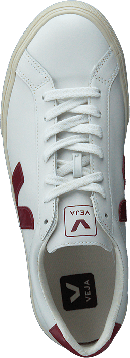 Kjøp Veja Esplar Extra White/marsala Sko Online
