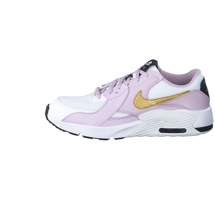 Air Max Excee Gs Whitemtlc Gold iced Lilac off
