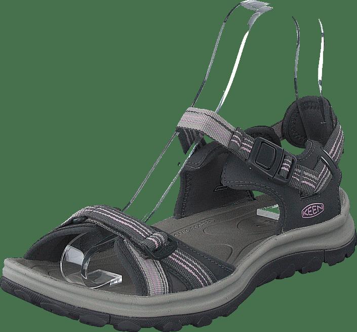 Keen - Terradora Ii Open Toe Sandal Dark Grey/dawn Pink