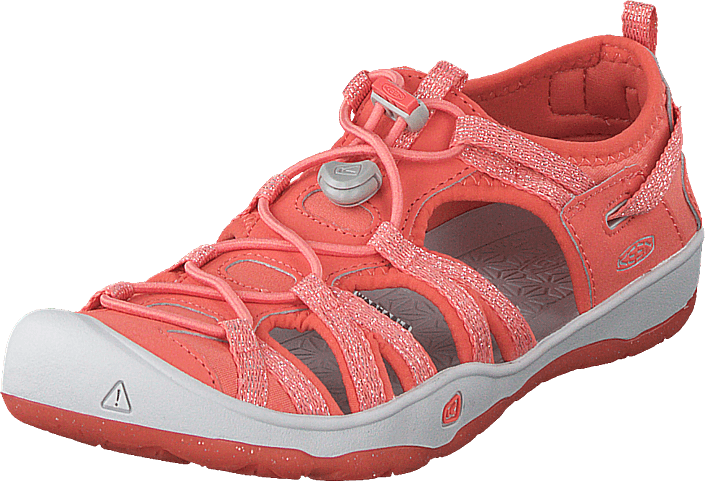 Moxie Sandal Youth Coral/vapor