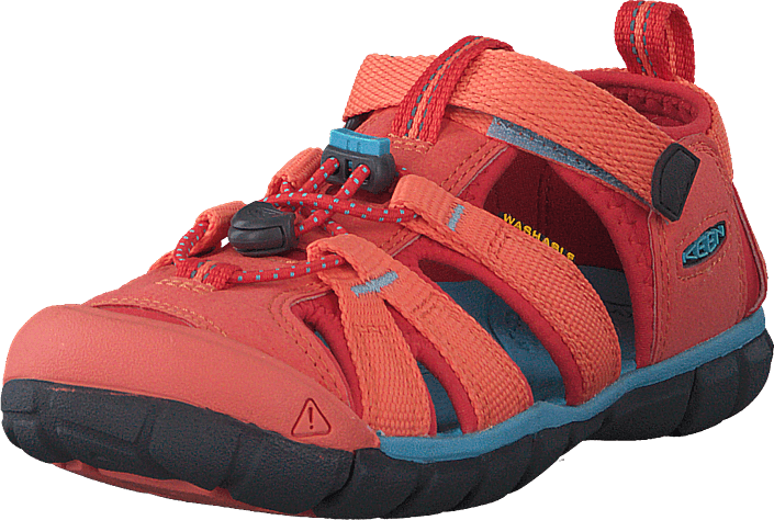 Keen - Seacamp Ii Cnx Youth Coral/poppy Red