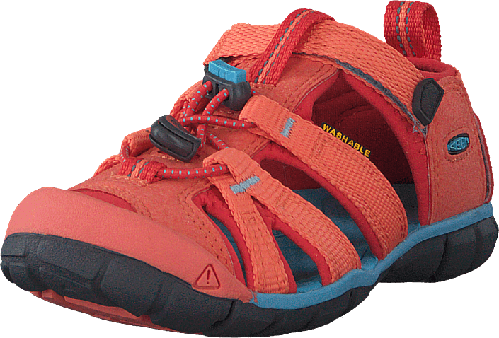 Keen - Seacamp Ii Cnx Children Coral/poppy Red