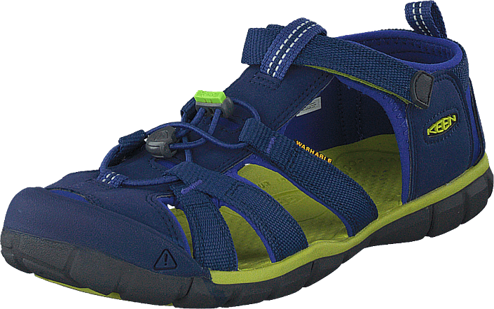 Keen - Seacamp Ii Cnx Youth Blue Depths/chartreuse