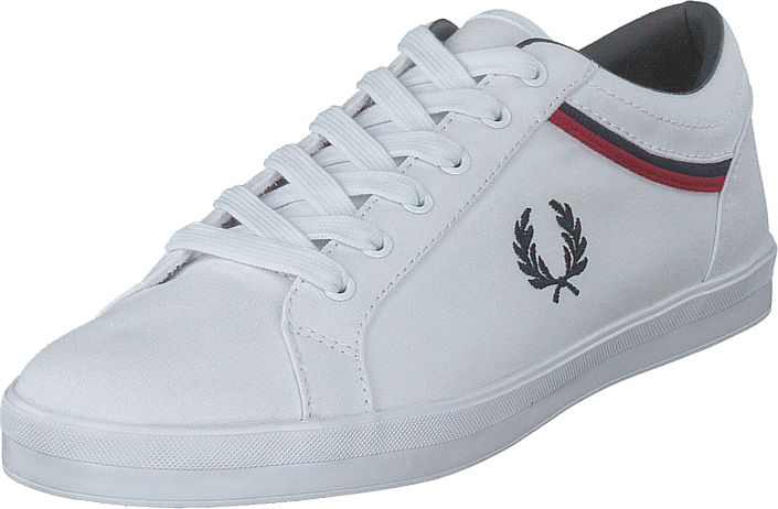 Fred Perry - Baseline Canvas White