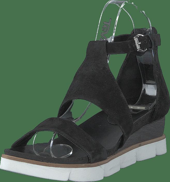 MJUS - Black Sandal Tapasita Nero/9943