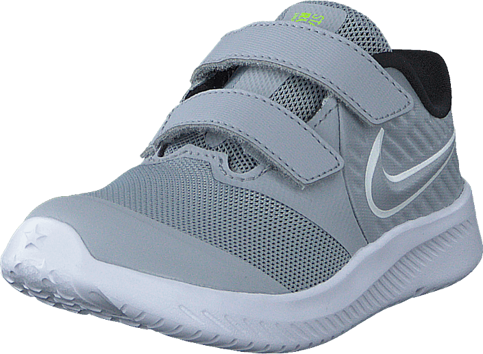 Nike - Star Runner 2 (tdv) Wolf Grey/white-black-volt