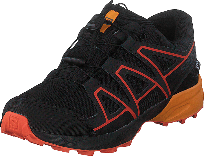 Salomon - Speedcross Cswp J Black/tangelo/cherry To