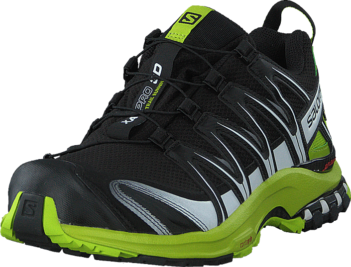 Salomon - Xa Pro 3d Gtx Black/lime Green/wht
