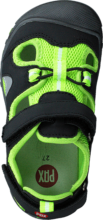 Pepper Black/lime