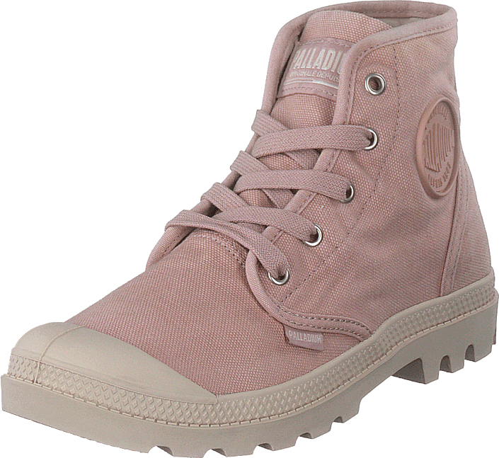 Palladium - Pampa Hi Ladies Adobe Rose