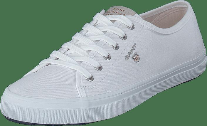 Gant - Preptown Low Lace Shoes G290 - Bright White