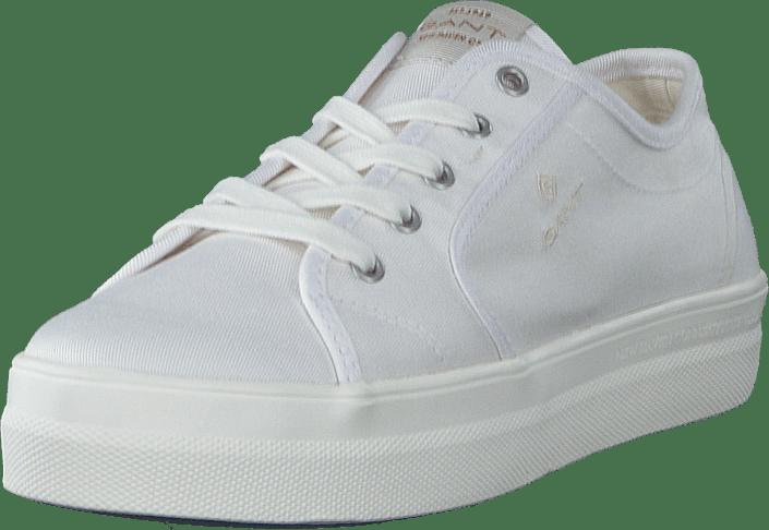 Gant - Leisha Low Lace Shoes G29 - White