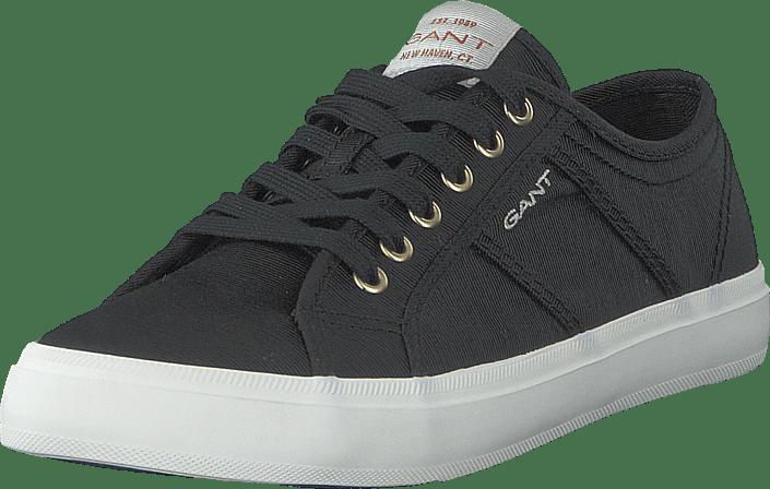 Gant - Pinestreet Low Laceshoes G00 - Black