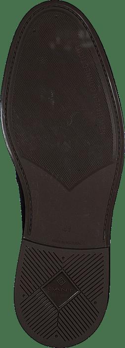 St Akron Low Lace Shoes G69 - Marine