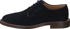 St Akron Low Lace Shoes G69 - Marine