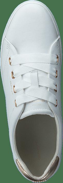 Kjøp Gant Avona Sneaker G296 - Br.wht./rose Gold Sko Online