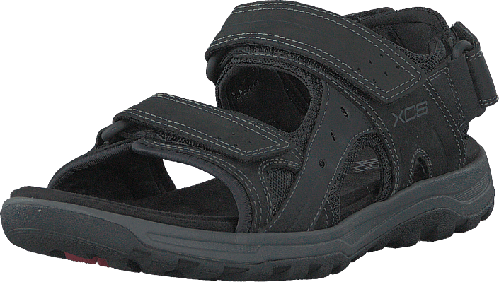 Tt Adjustable Sandal Black