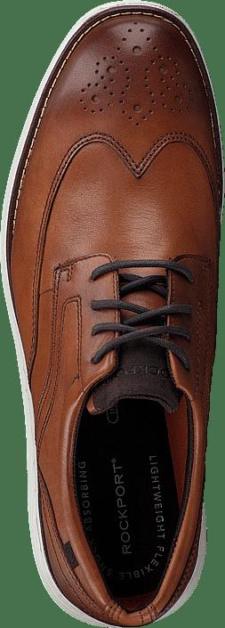 Kjøp Rockport Garett Wingtip Cognac Sko Online