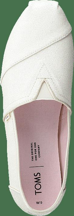 Kjøp Toms Ivry Glitter Wm Alpr Esp Ss 20 White Sko Online