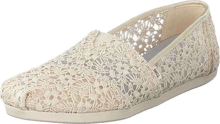 Toms - Natural Floral Lace Wm Alpr Es Natural