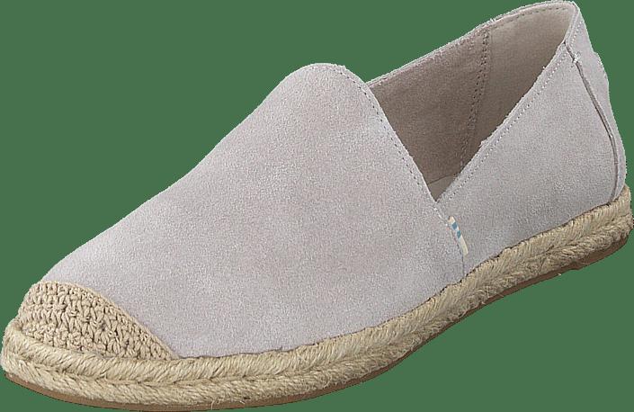 Toms - Cloud Grey Suede Wm Pismo Esp  Grey