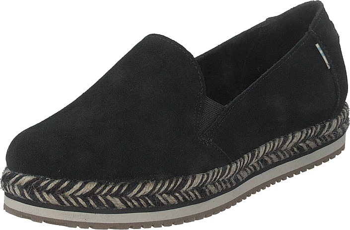 Toms - Black Suede Wm Palma Esp Ss 20 Black