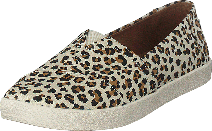 Toms - Birch Leopard Print Wm Ava Sli Natural