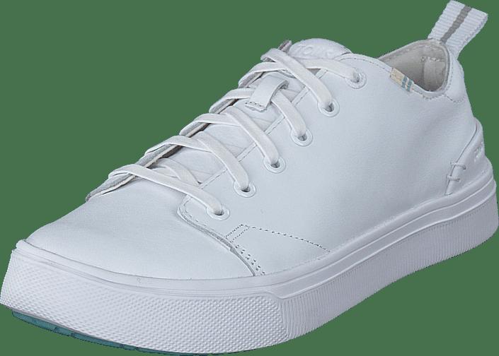 White Leather Mn Trvlo Sneak S 0 White
