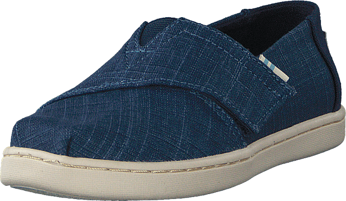Toms - Mblu Croshatch Linen Tn Alpr E Blue