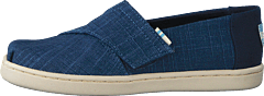 Mblu Croshatch Linen Tn Alpr E Blue