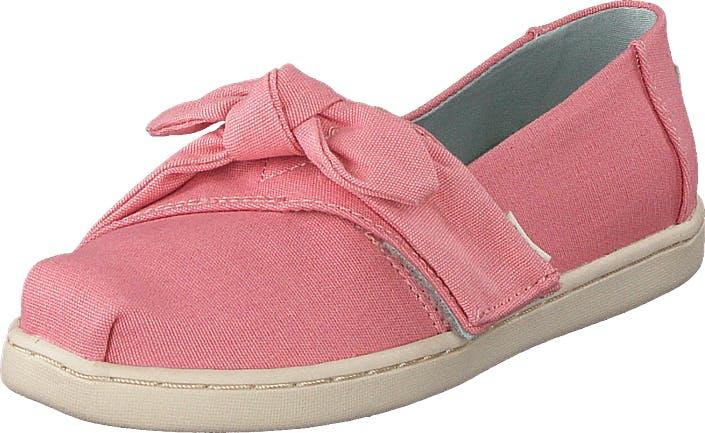 Toms Plt Dye Pnk Cvs/bow Tn Alpr Es Pink, Sko, Flade sko, Slip on, Lyserød, Børn, 24