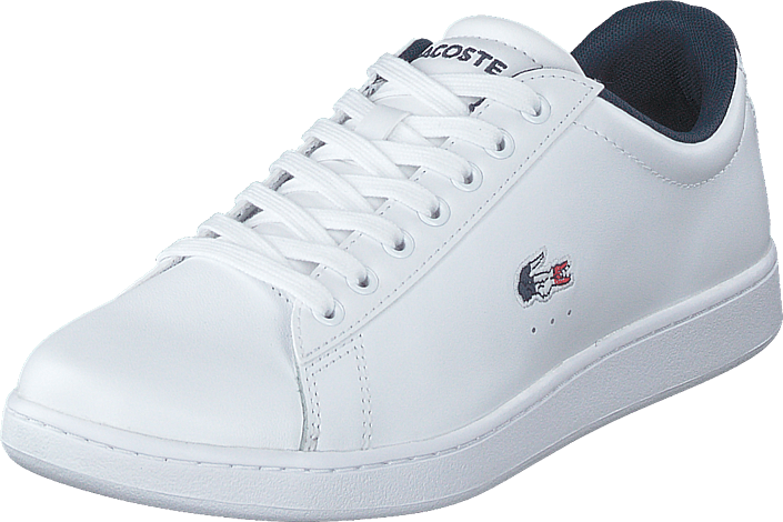 Lacoste - Carnaby Evo Tri 1 Sfa Wht/nvy/red