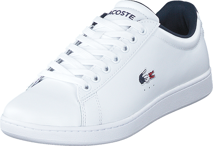 Lacoste - Carnaby Evo Tri1 Sma Wht/nvy/red