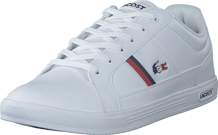 Lacoste - Europa Tri1 Sma Wht/nvy/red