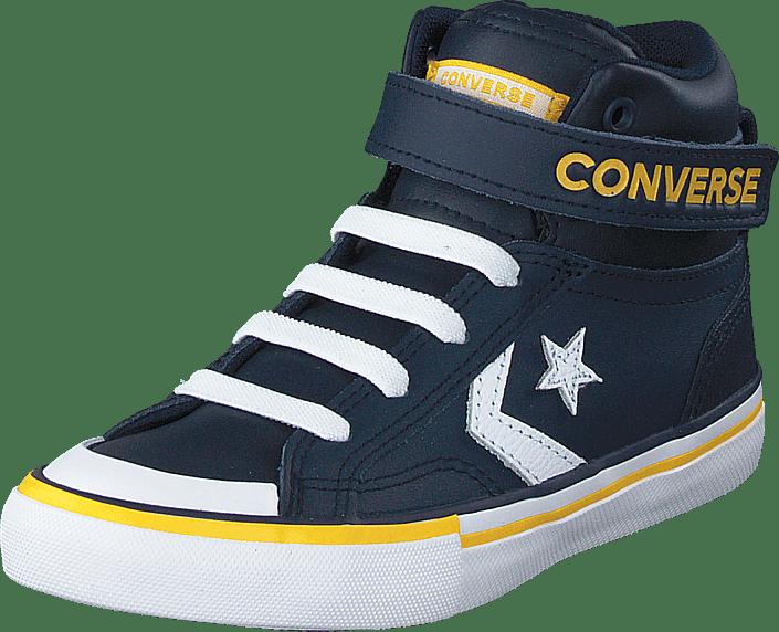 Converse - Pro Blaze Strap Varsity Navy/white/yellow