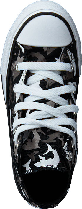 Kjøp Converse Chuck Taylor Shark Black /red Sko Online