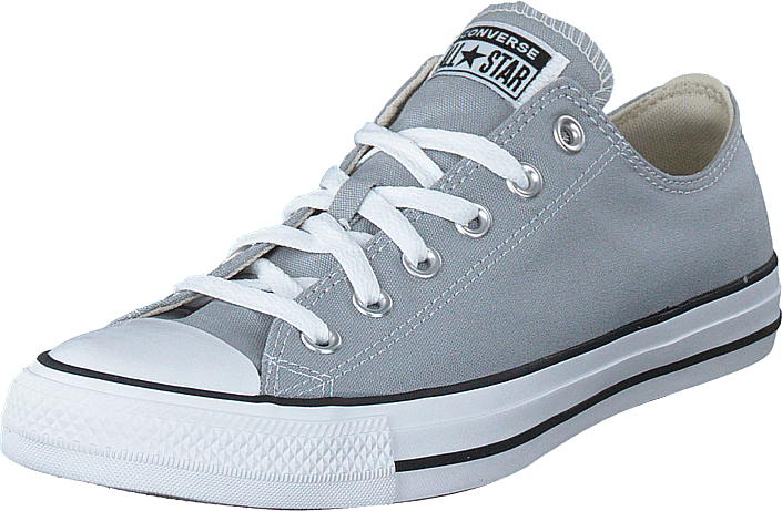 Converse - Chuck Taylor All Star Ox Wholf Grey/white